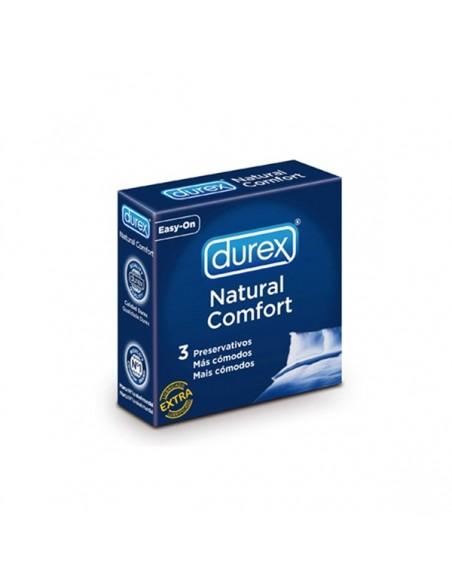 Preservativos Durex Natural Comfort (3 Unidades)